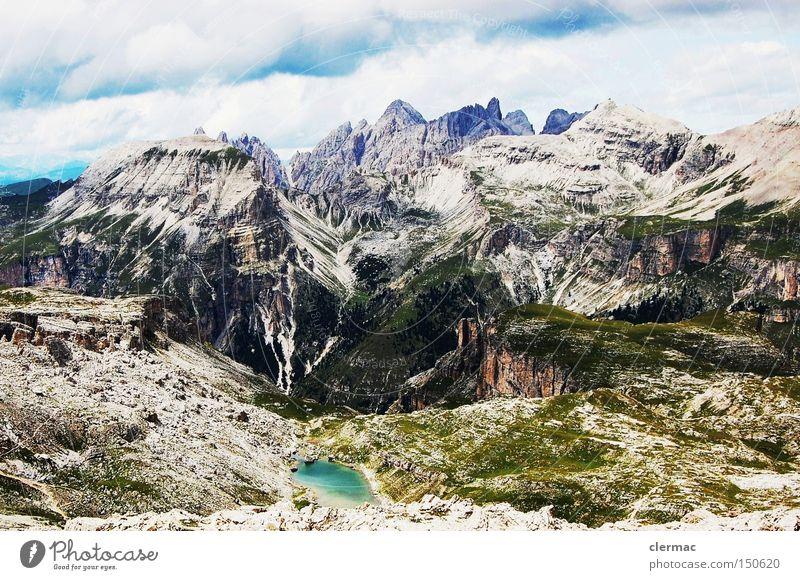 dolomiten crespeina hochfläche Ferien & Urlaub & Reisen Berge u. Gebirge Italien Alpen Klettern Alm