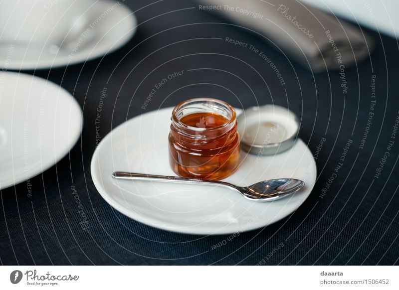 Honig Gefühle Lebensmittel Getränk Teller Flasche Löffel Lifestyle elegant Stil Design Freude harmonisch Freizeit & Hobby Spielen Ausflug Abenteuer Freiheit