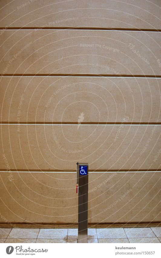 I drüke de knöpje modern Wand Knöpfe Schalter minimalistisch Geometrie Strukturen & Formen Fassade Moderne Architektur Menschenleer Textfreiraum oben
