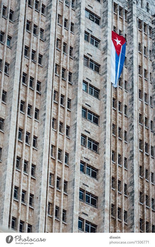 cuban tristesse Ferien & Urlaub & Reisen Stadt Haus Ferne Fenster Architektur Wand kalt Gebäude Tourismus Mauer Fassade Hochhaus Bauwerk Hauptstadt Städtereise