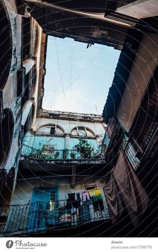 patio trasero Ferien & Urlaub & Reisen Abenteuer Ferne Städtereise Havanna Kuba Südamerika Mittelamerika Karibik Stadt Hauptstadt Hafenstadt Stadtzentrum