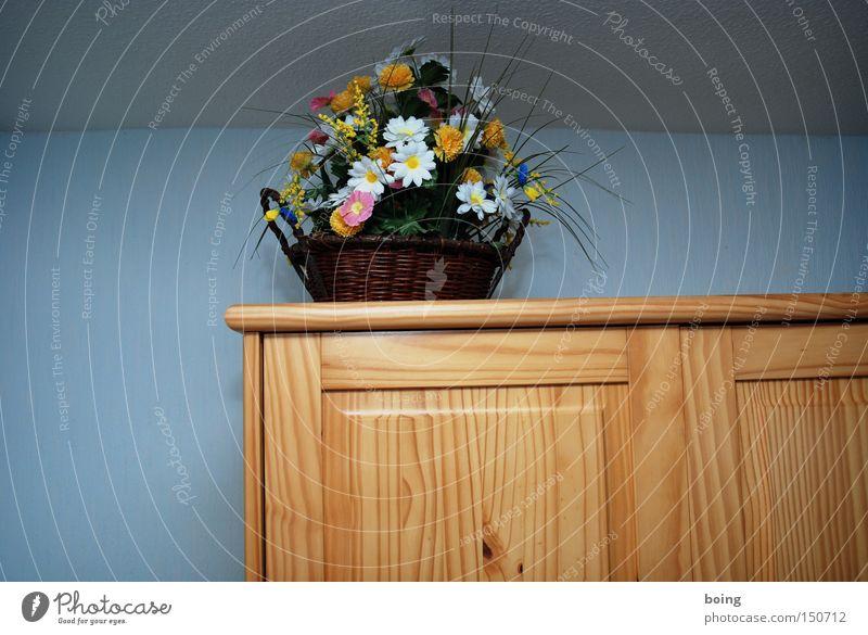 schöner Wohnen Blume träumen Wohnung Dekoration & Verzierung Schmuck Möbel Blumenstrauß Korb Schrank Schlafzimmer Alptraum Kleiderschrank Kunstblume