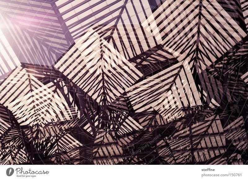 analytischer kubismus Berge u. Gebirge Linie modern abstrakt chaotisch durcheinander Doppelbelichtung Kubismus