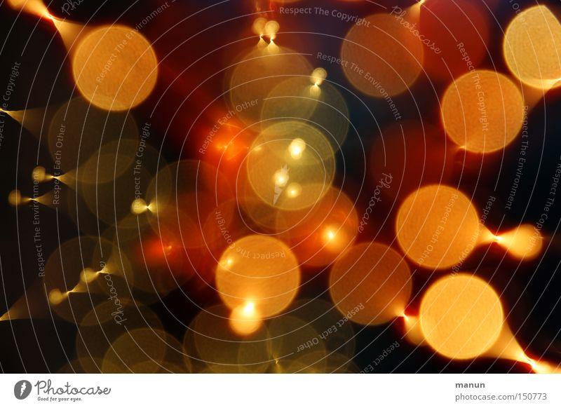 Lightning festlich Silvester u. Neujahr Lichtpunkt abstrakt rot gelb Feuerwerk Explosion Lampe
