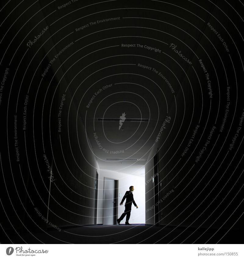 gangway Mann Mensch Gang Wege & Pfade Behörden u. Ämter Arbeit & Erwerbstätigkeit Arbeitsplatz Licht Silhouette Gangway Fotolabor Flur Sitzung