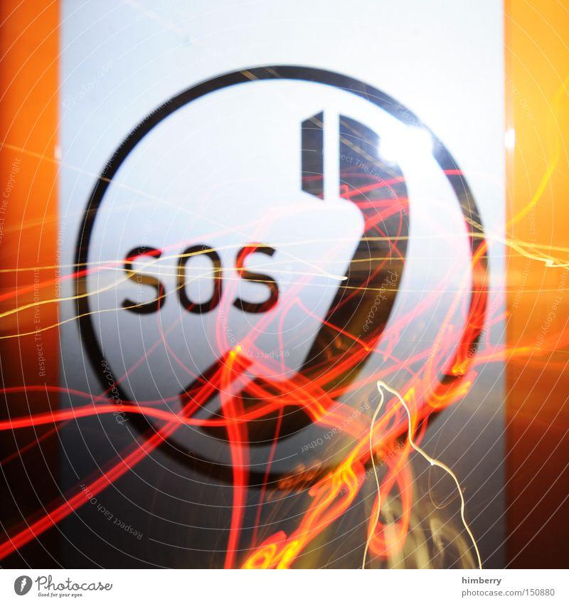 tarifverhandlung SOS Notruf Notfall Verkehrszeichen Straßenverkehr Verkehrsstau Güterverkehr & Logistik Telefon Telefonhörer Symbole & Metaphern Zeichen