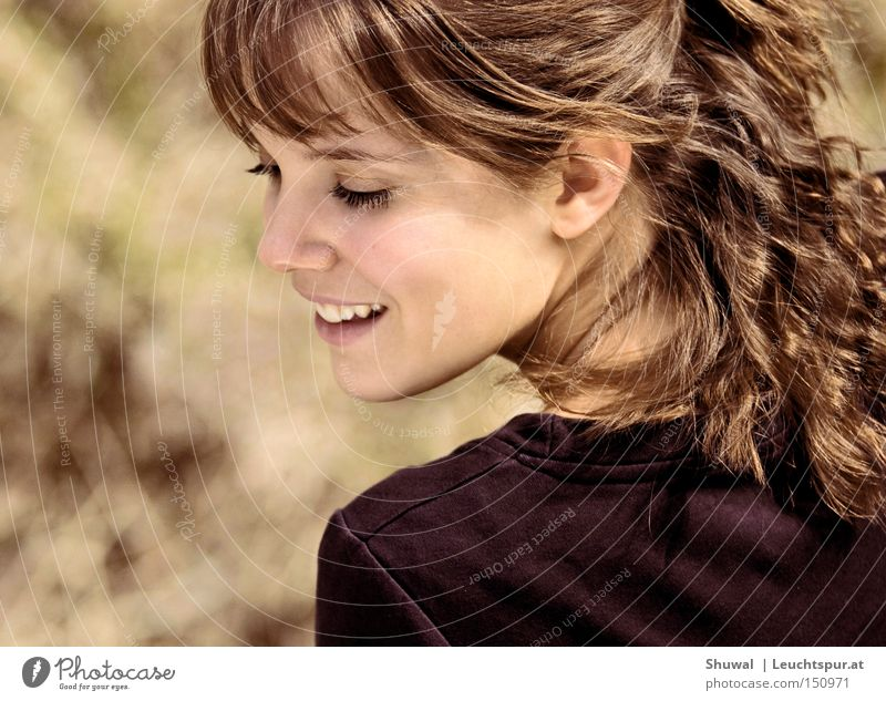 Tochter Zions Frau Mensch Jugendliche schön Freude Erwachsene Gesicht feminin Leben Freiheit Gefühle Haare & Frisuren Glück lachen Haut