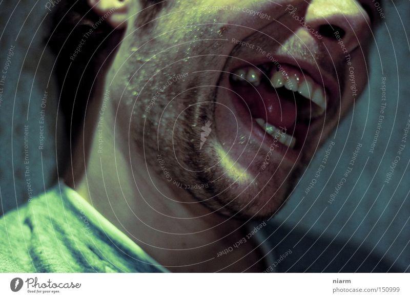 der Schmück Zahnlücke Zähne Zahnarzt hässlich grauenvoll grausam schreien lachen Monster unheimlich Schrecken böse unheilbringend gruselig Angst Panik Zahnlos