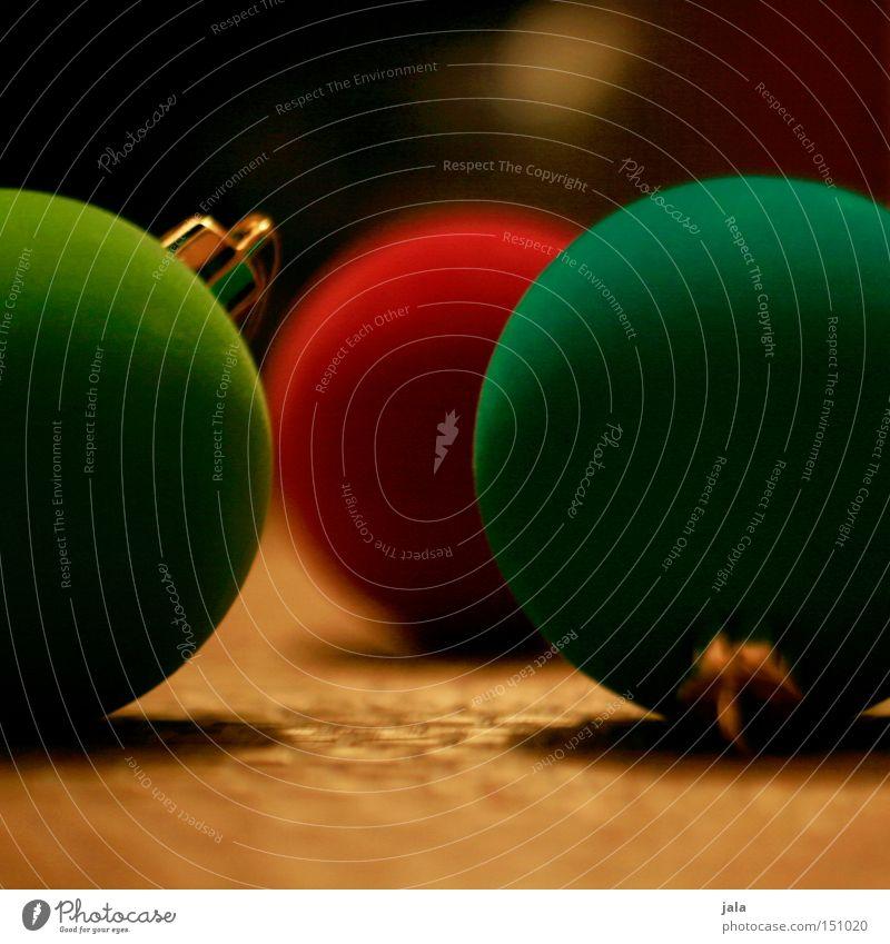 alle jahre wieder... Weihnachten & Advent Weihnachtsdekoration Christbaumkugel Kugel grün rot mehrfarbig Dekoration & Verzierung Farbe Winter