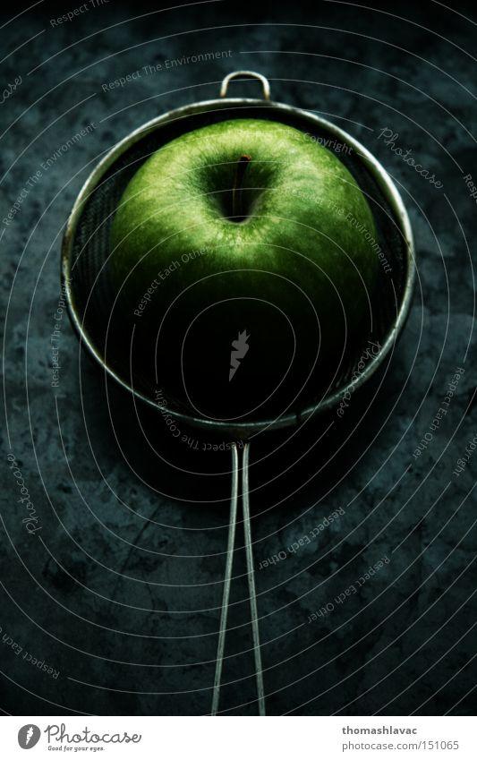 grün Frucht Apfel Geschmackssinn geschmackvoll Symbiose