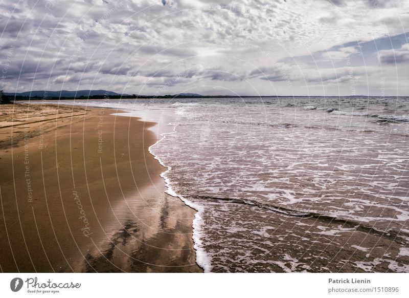 Queensland, Australien schön Erholung Ferien & Urlaub & Reisen Ausflug Abenteuer Sommer Strand Meer Insel Wellen Umwelt Natur Landschaft Himmel Wolken Horizont