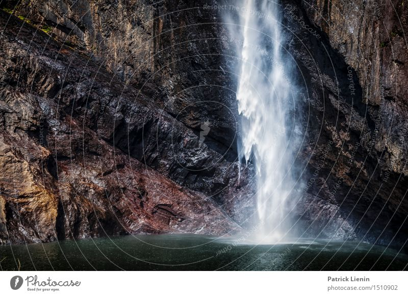 Wallaman Herbst schön Erholung Ferien & Urlaub & Reisen Abenteuer Sommer Berge u. Gebirge Natur Landschaft Wasser Klima Wetter Wasserfall Platz Bewegung nass
