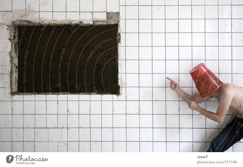 schwarzes Loch. Mann alt Freude Kopf Hintergrundbild Hut Weltall Hinweisschild schäbig Poster Plakat fließen zeigen Eimer Druckerzeugnisse