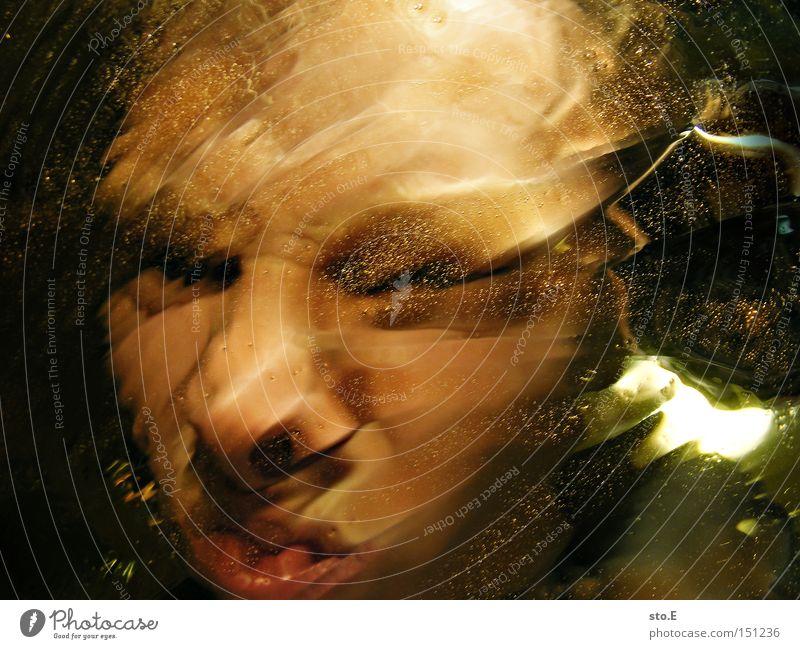 being just a little strange pt.4 Mensch Porträt Gesicht schreien Unschärfe Reflexion & Spiegelung Verzerrung Mund Gefühle Angst Freude abstrakt Jugendliche
