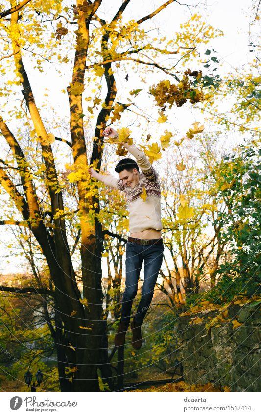 Spring im Herbst Lifestyle elegant Stil Freude Leben harmonisch Freizeit & Hobby Spielen Ferien & Urlaub & Reisen Ausflug Abenteuer Freiheit Sightseeing