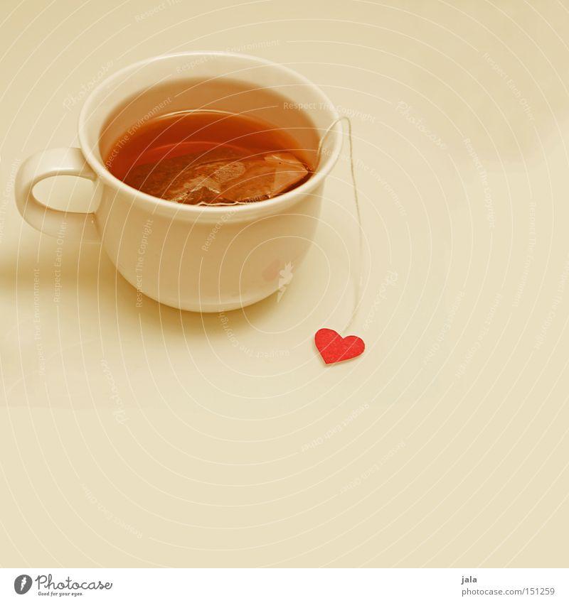 tee mit herz weiß Winter Liebe Herz Gesundheit Sauberkeit Tee Tasse Erfrischung Liebeskummer Teebeutel
