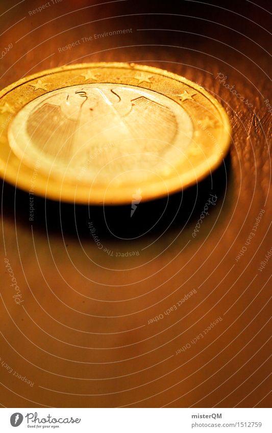 Das Märchen vom Goldtaler. Kunst gold ästhetisch Europa Stern Geld Symbole & Metaphern bezahlen sparen Eurozeichen Wert Adler Zahlungsmittel