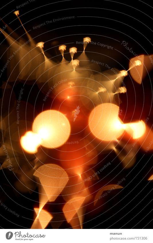Lichtfeuer Weihnachten & Advent rot schwarz Graffiti Stil Feste & Feiern Unschärfe gold glänzend Design Geburtstag leuchten planen Show Kreativität Zeichen