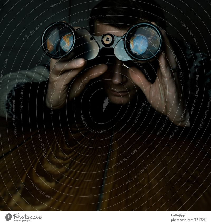 google earth Blick Bildung Mensch Erde Fernglas beobachten entdecken Neugier Kontrolle Weltall Wissen Planet forschen Suche Atlas Geografie Globalisierung