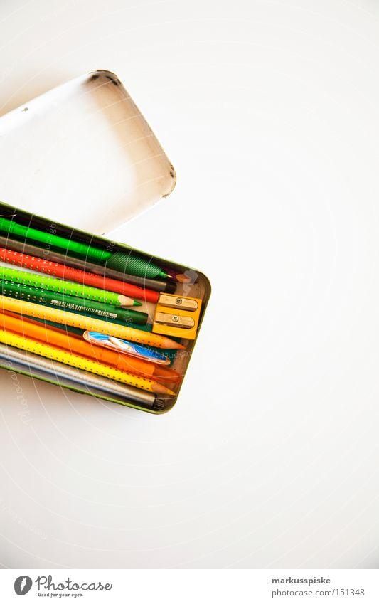 office set Farbe Zusammensein lernen Schriftzeichen Schreibwaren Bildung Spitze streichen schreiben Sitzung Schreibtisch Kreativität Medien Typographie