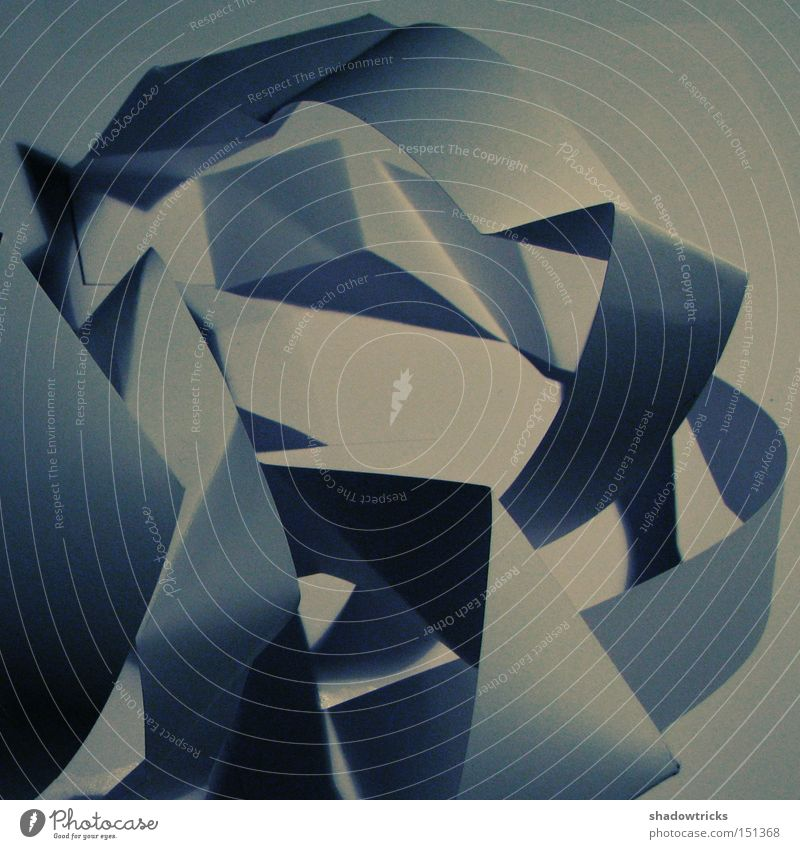 ffffound on mars Schatten Licht & Schatten Papier Kunst Dinge Unsinn obskur Muster