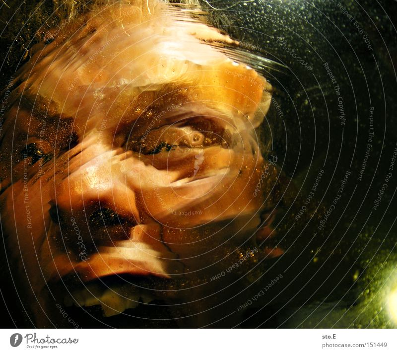 being just a little strange pt.5 Mensch Freude Gesicht Gefühle Mund Angst schreien Panik Reaktionen u. Effekte Verzerrung