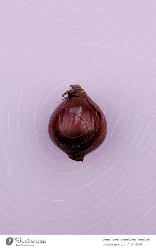 Jammy Zwiebel auf Lila Gesunde Ernährung Gesundheit Kunst ästhetisch Kochen & Garen & Backen Kräuter & Gewürze violett Gemüse lecker Bioprodukte Kunstwerk