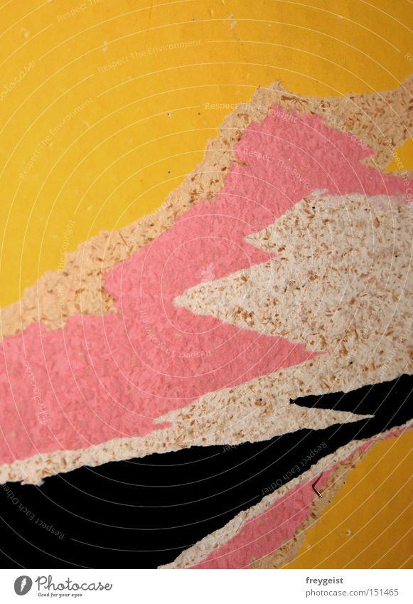 Rau(h)faser Freude Arbeit & Erwerbstätigkeit Wand Stil Raum Baustelle Tapete Handwerk Schichtarbeit Raufasertapete Plattencover