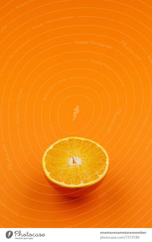 Jammy Orange auf Orange Farbe Kunst Design Frucht orange ästhetisch verrückt lecker Kunstwerk saftig knallig vitaminreich Vitamin C Orangensaft Orangerie