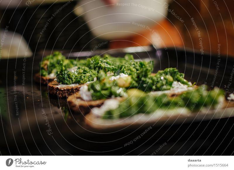 Pesto Brot Freude Leben Gefühle Essen Stil Lifestyle Feste & Feiern Lebensmittel Party Stimmung Wohnung Design Freizeit & Hobby elegant Erfolg Fröhlichkeit