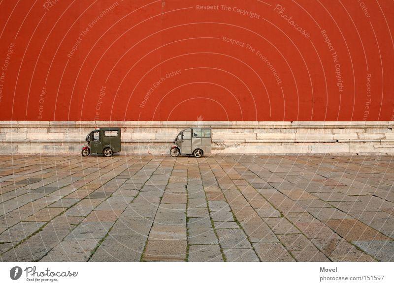 kaiser meeting rot Ferien & Urlaub & Reisen Farbe Wand Stein Mauer Gebäude Architektur Tokyo bedrohlich Asien Japan China Bauwerk historisch