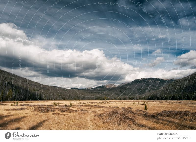 Rocky Mountains National Park Wellness Wohlgefühl Zufriedenheit Sinnesorgane Ferien & Urlaub & Reisen Abenteuer Ferne Freiheit Expedition Camping