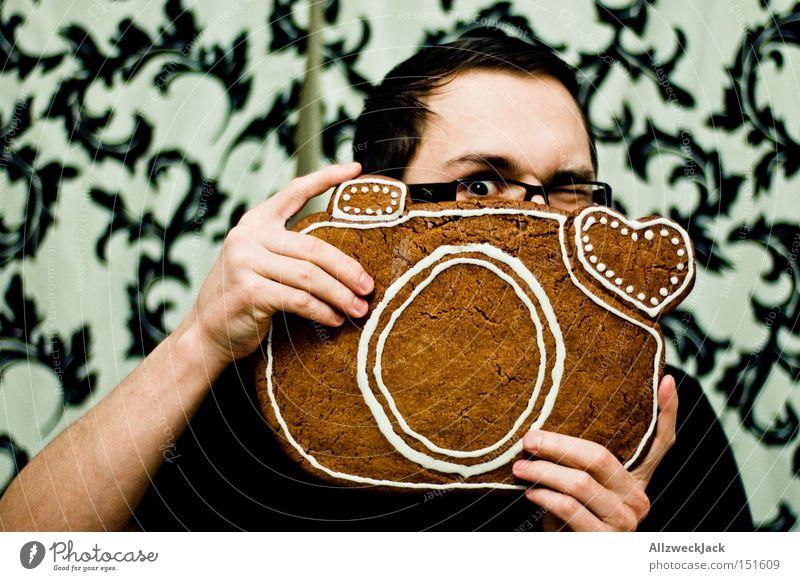 shoot to thrill Weihnachten & Advent Freude Kochen & Garen & Backen Geschenk Fotografie Fotokamera Kuchen Handwerk Backwaren Gerät Fotografieren Auslöser Lebkuchen