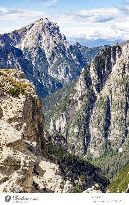 Berge Südtirol Natur blau grün Sommer Landschaft Berge u. Gebirge Herbst Frühling grau Stein Felsen Gipfel Hügel Alpen