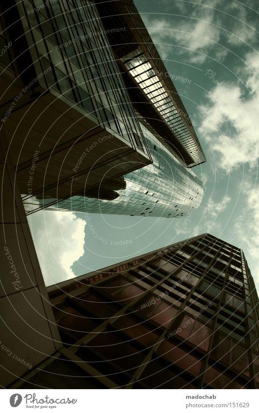 MASSIVMASSIV - Einstürzende Neubauten Kapitalwirtschaft Himmel Stadt Hochhaus Gebäude Architektur selbstbewußt Erfolg Macht Stolz Übermut Business