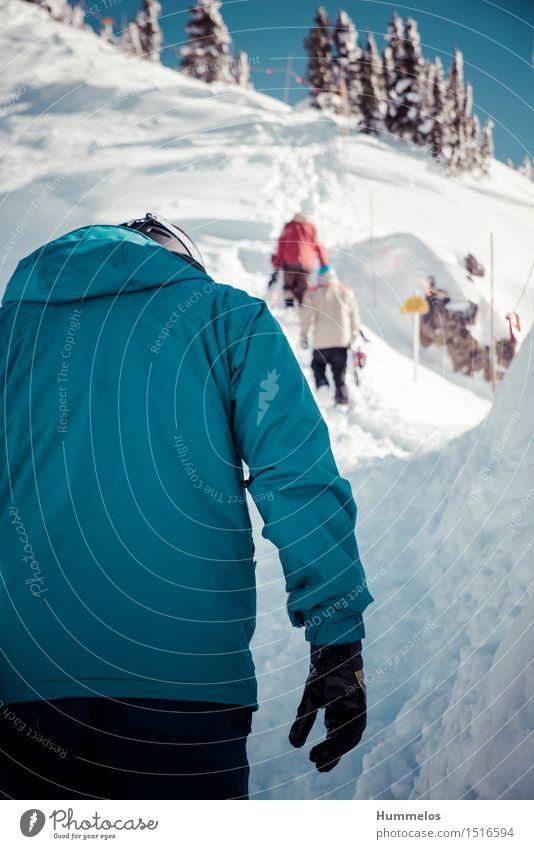 Skitour in Revelstoke, Canada Mensch Jugendliche Junger Mann Landschaft Freude Winter Berge u. Gebirge Erwachsene Schnee Sport Freundschaft maskulin Ausflug