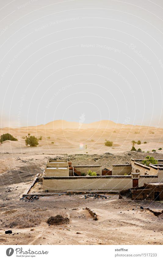 Wüste (9/10) Ferien & Urlaub & Reisen Wärme Sand Tourismus Abenteuer Düne Durst Festung Naher und Mittlerer Osten Oase Arabien Marokko Sahara Tunesien Algerien