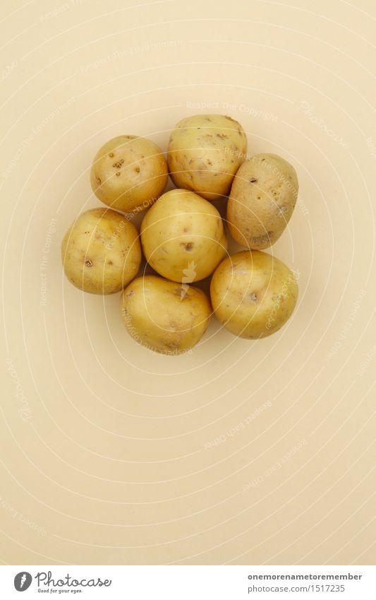 Jammy Kartoffel auf Beige Kunst Kunstwerk ästhetisch Kartoffeln Kartoffelchips Kartoffelacker Kartoffelgerichte Kartoffelernte Gesunde Ernährung Ernte
