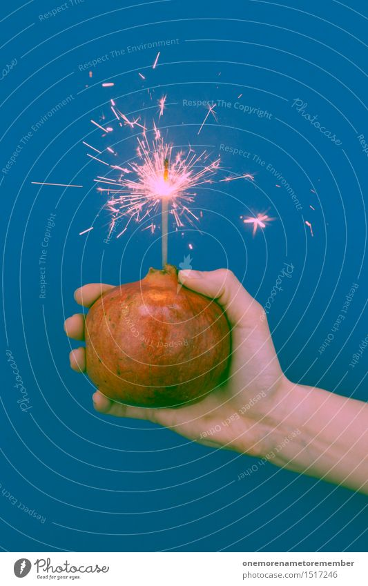 Kracher Hand rot Spielen Kunst ästhetisch Kreativität gefährlich Idee festhalten Silvester u. Neujahr Überraschung heiß Feuerwerk Aggression Zerstörung Funken