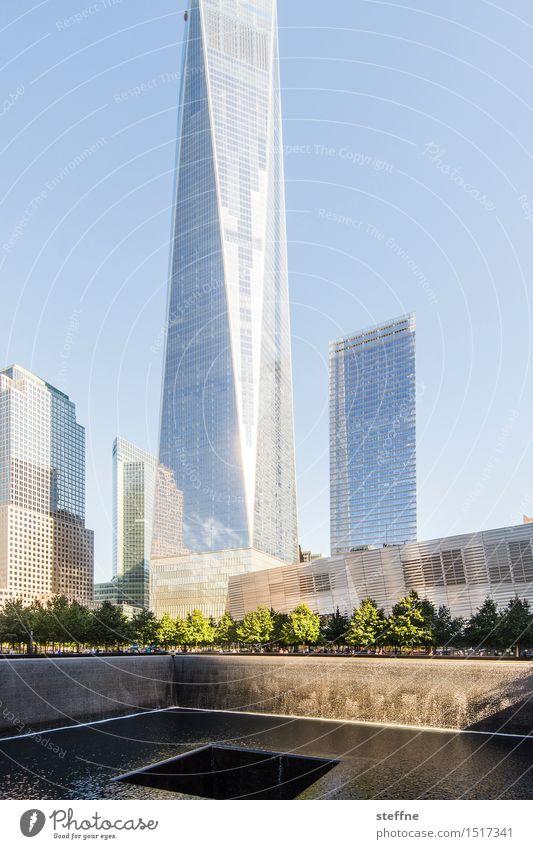 Freedom Stadt Tod Freiheit Angst Hochhaus Wahrzeichen Denkmal Manhattan New York City Terror Anschlag World Trade Center