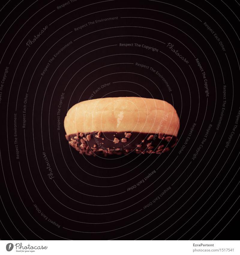 dufot schwarz gelb Lebensmittel braun Ernährung süß lecker Süßwaren Appetit & Hunger Kuchen Werbung Backwaren Schokolade Diät Teigwaren Krapfen