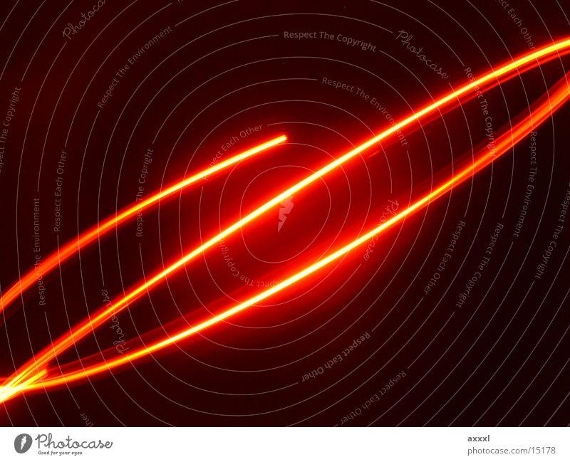 Leuchtspur3 Licht Langzeitbelichtung Linie