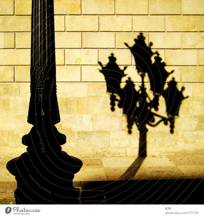 Laterne Wand Laterne Stahl Straßenbeleuchtung Selbstportrait Pfosten