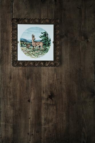 Ahnengalerie - Jagdhütte Ferien & Urlaub & Reisen grün Baum Erholung ruhig Tier Wald Berge u. Gebirge Umwelt Wand braun Häusliches Leben Freizeit & Hobby