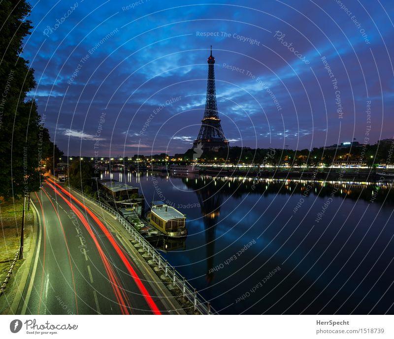 800 / still standing Flussufer Seine Paris Frankreich Europa Hauptstadt Skyline Menschenleer Turm Bauwerk Architektur Sehenswürdigkeit Wahrzeichen Tour d'Eiffel