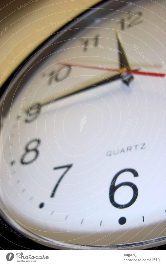 viertel vor 12 Business Zeit Uhr vorwärts Stadtteil kurz 12 Fototechnik