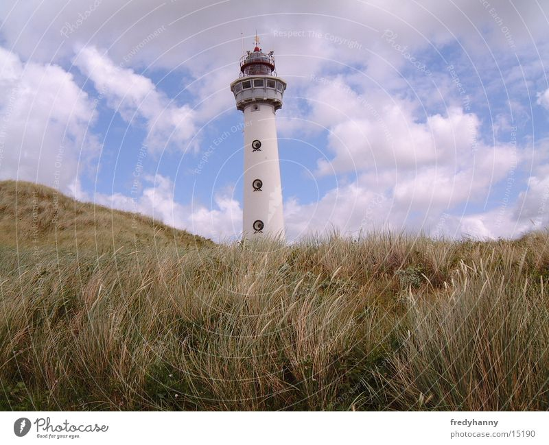 Leuchtturm Küste Niederlande Architektur Turm
