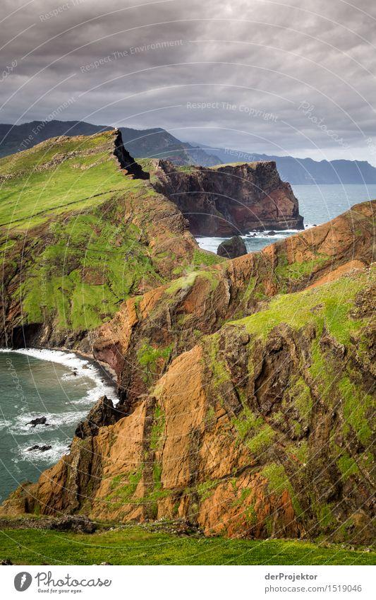 Wechselhafte Stimmung Ferien & Urlaub & Reisen Tourismus Abenteuer Ferne Freiheit Berge u. Gebirge wandern Umwelt Natur Landschaft Pflanze Tier Gewitterwolken