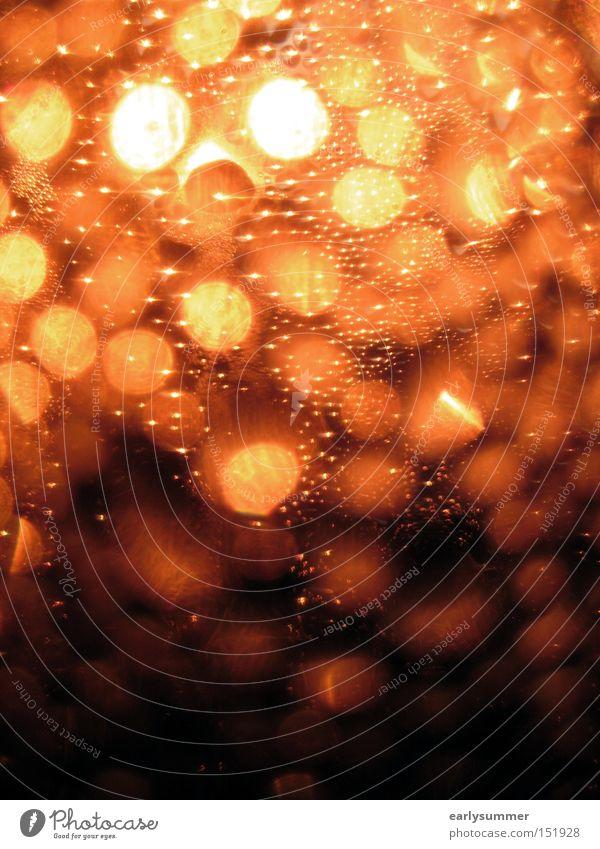 sparkling gelb Feste & Feiern Lampe hell orange glänzend leuchten Show Punkt Veranstaltung unklar gepunktet ausgehen unerkannt Hintergrund neutral Muster