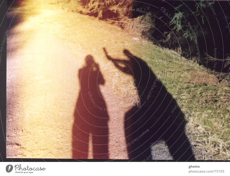schatten Mensch Schatten Schlag 2